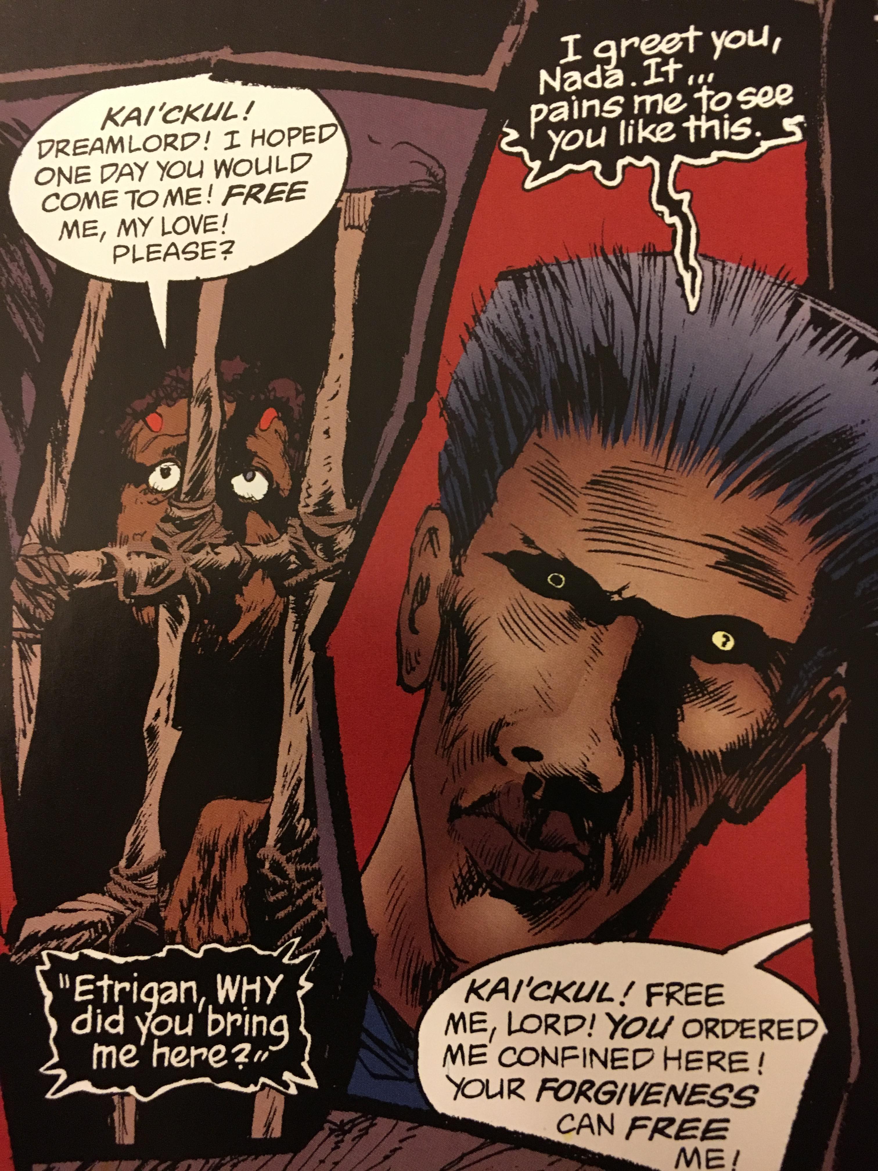 Searching Sandman – Issue 4 part 2. | Kechal Comics